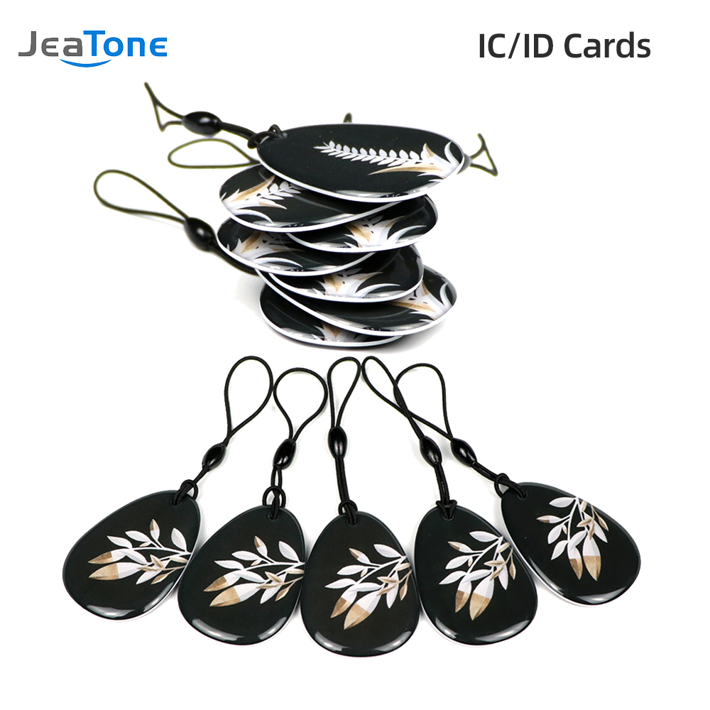 13.5MHz RFIC/125KHz RFID Card for Home Access Control Video Intercom System